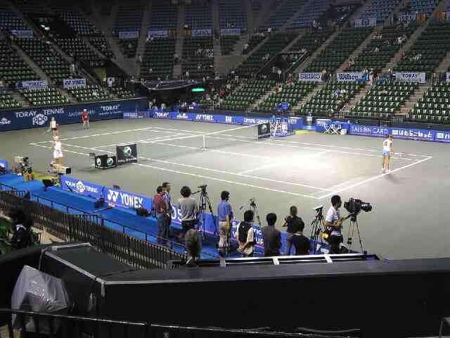 東レ パンパシフィック テニス