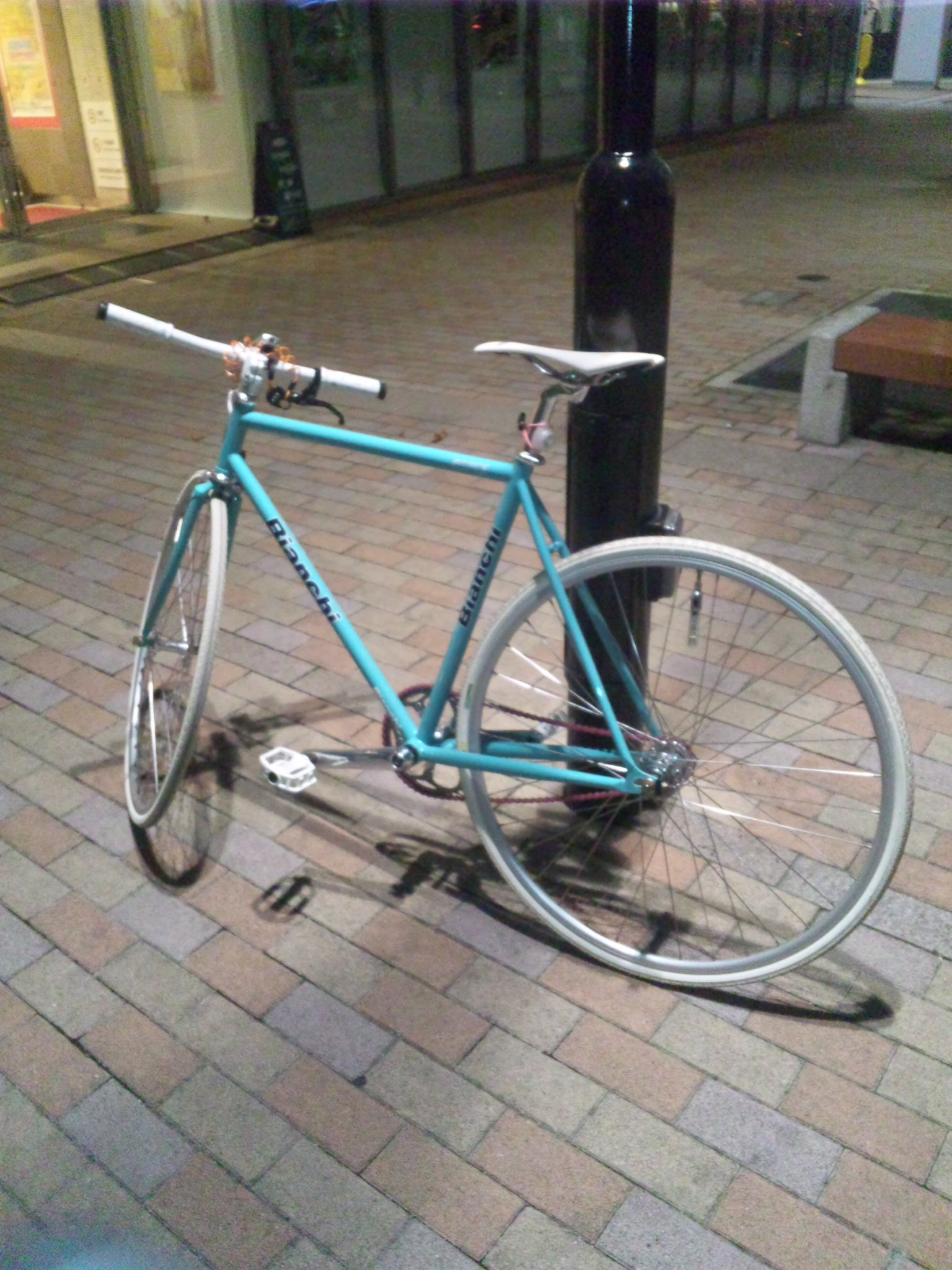 自転車の街、宇都宮にて